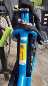 marquage de sécurité pour vélo
